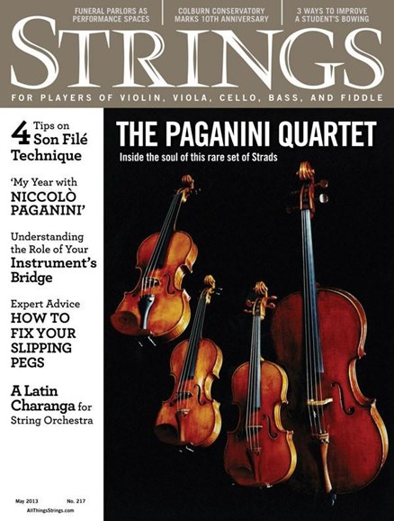 Strings Cover - 5/1/2013