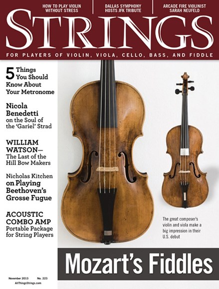 Strings Cover - 11/1/2013