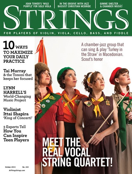 Strings Cover - 10/1/2013