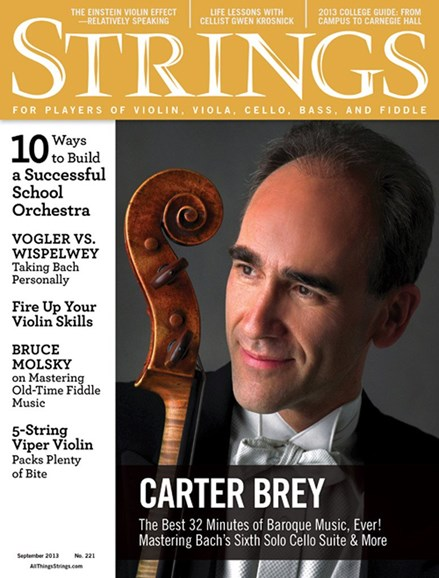 Strings Cover - 9/1/2013