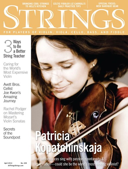 Strings Cover - 4/1/2014