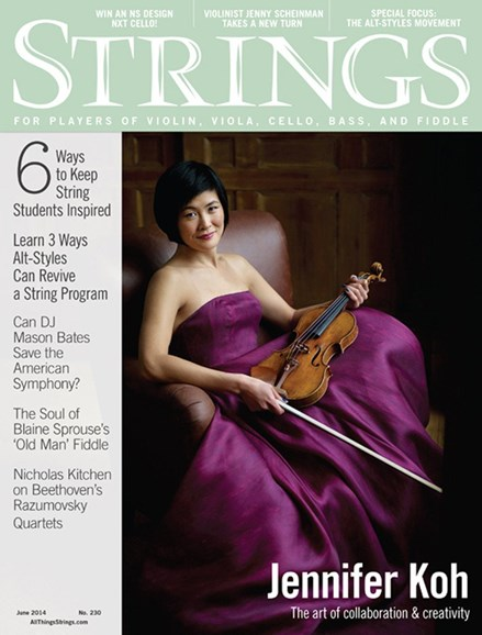 Strings Cover - 6/1/2014
