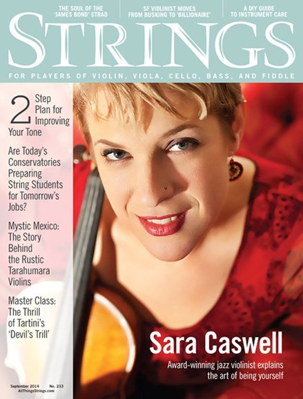 Strings Cover - 9/1/2014