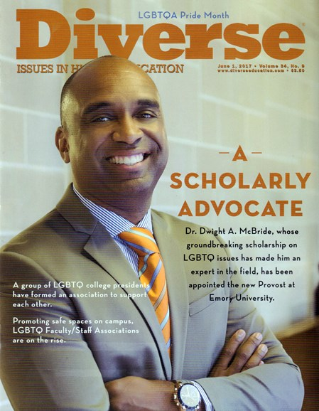 Diverse: Issues In Higher Education Cover - 6/1/2017