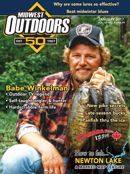 Midwest Outdoors Cover - 1/1/2017