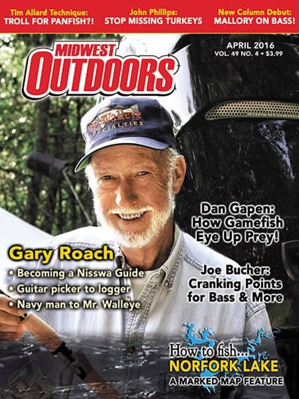 Midwest Outdoors Cover - 4/1/2016