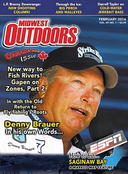 Midwest Outdoors Cover - 2/1/2016