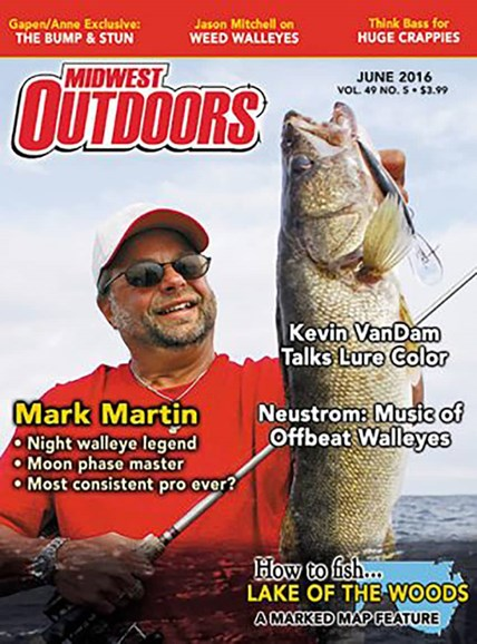 Midwest Outdoors Cover - 6/1/2016