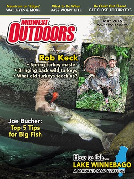 Midwest Outdoors Cover - 5/1/2016