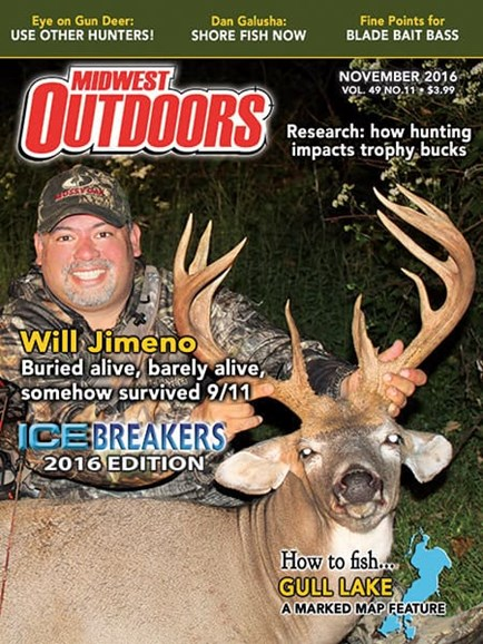 Midwest Outdoors Cover - 11/1/2016