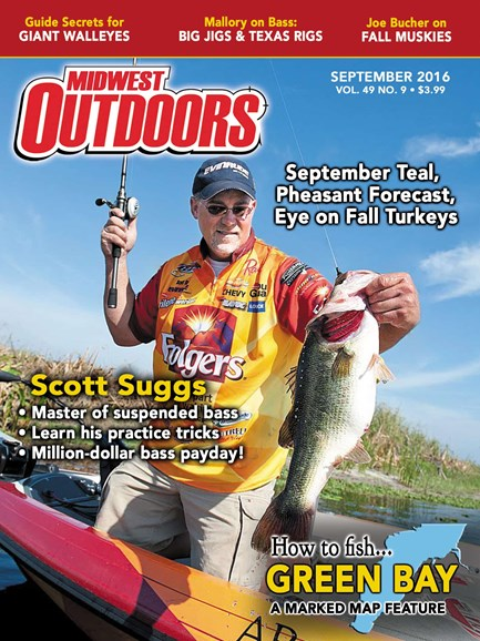Midwest Outdoors Cover - 9/1/2016