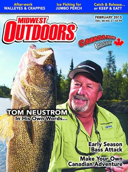 Midwest Outdoors Cover - 2/1/2015