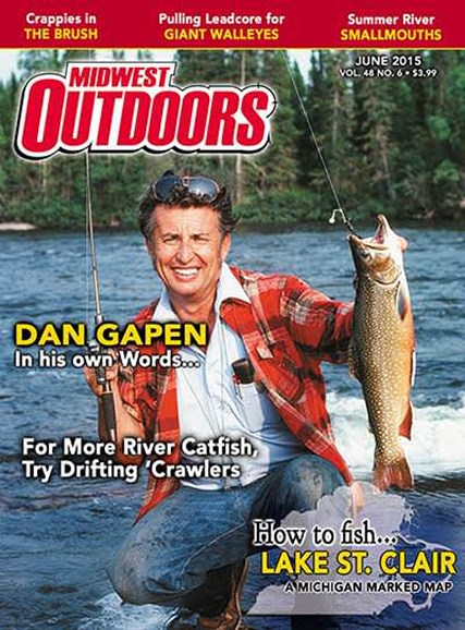 Midwest Outdoors Cover - 6/1/2015