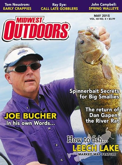 Midwest Outdoors Cover - 5/1/2015