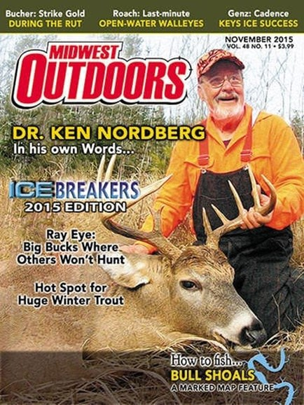 Midwest Outdoors Cover - 11/1/2015