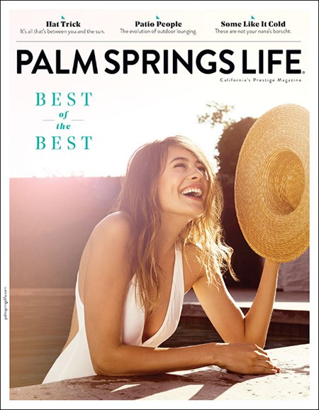 Palm Springs Life Cover - 8/1/2017
