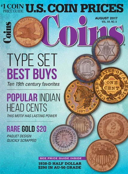 Coins Cover - 8/1/2017