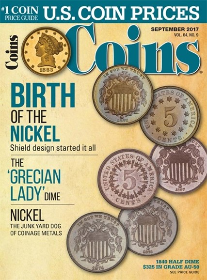 Coins Cover - 9/1/2017