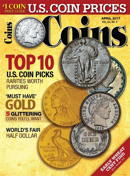 Coins Cover - 4/1/2017