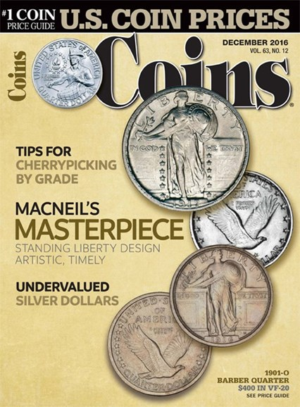 Coins Cover - 12/1/2016