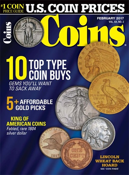 Coins Cover - 2/1/2017