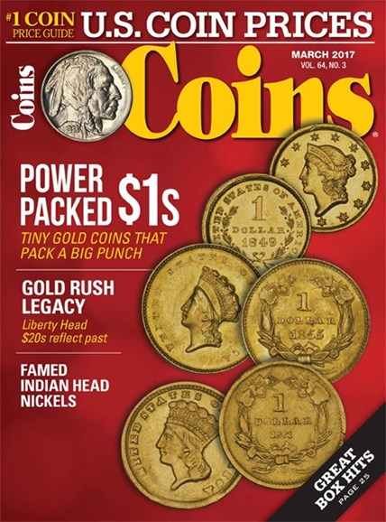 Coins Cover - 3/1/2017