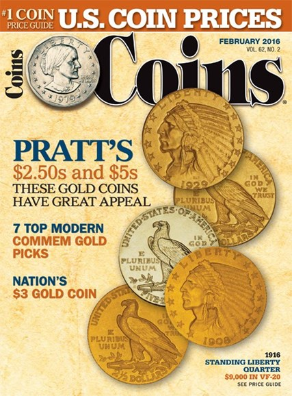 Coins Cover - 2/1/2016