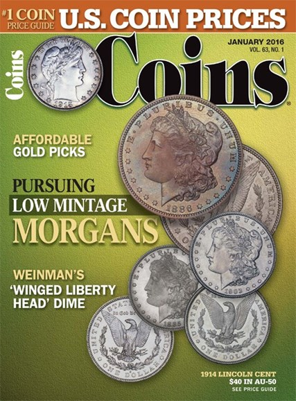 Coins Cover - 1/1/2016