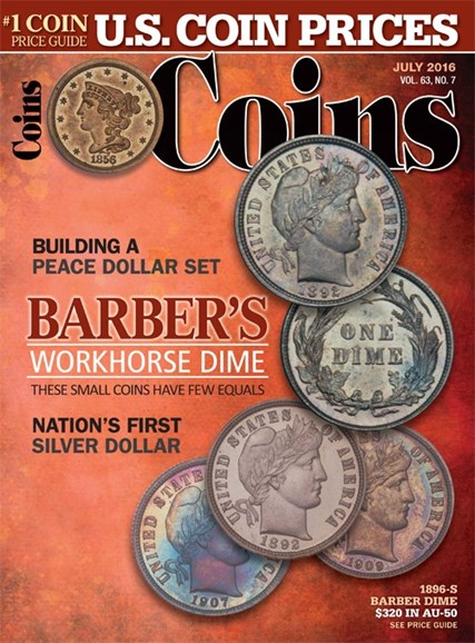 Coins Cover - 7/1/2016