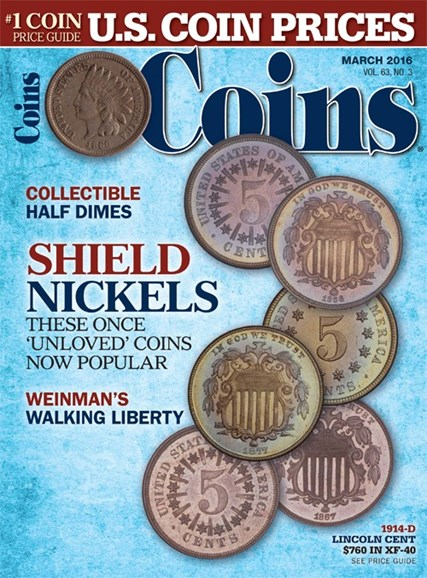 Coins Cover - 3/1/2016