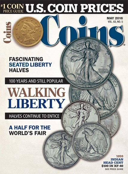 Coins Cover - 5/1/2016