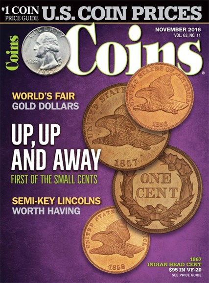 Coins Cover - 11/1/2016