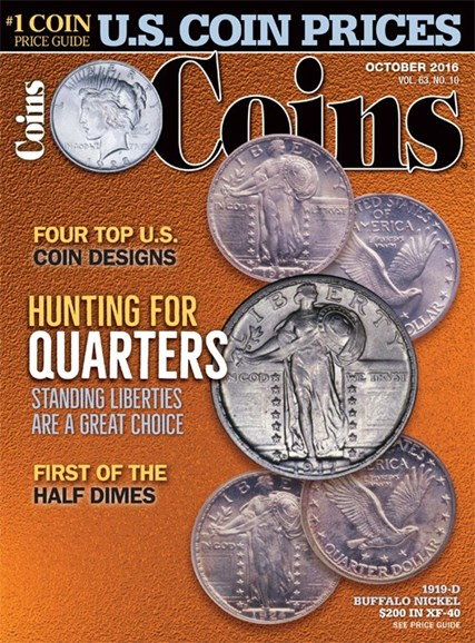 Coins Cover - 10/1/2016