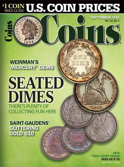Coins Cover - 9/1/2016