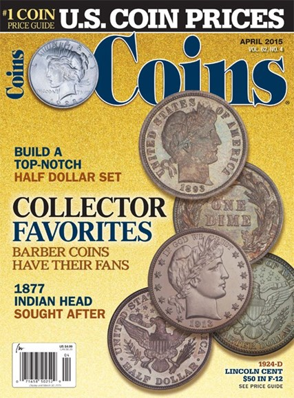 Coins Cover - 4/1/2015