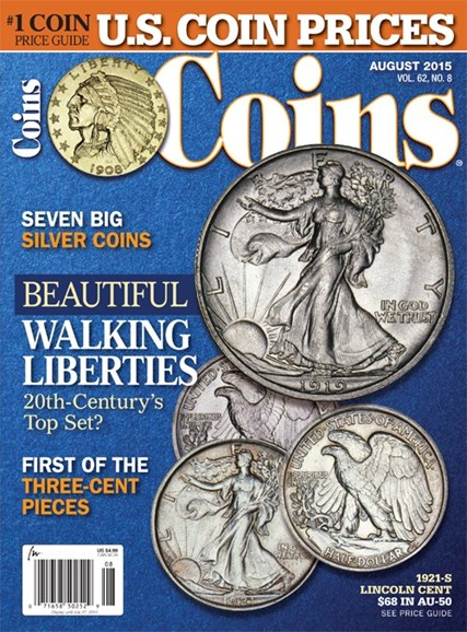 Coins Cover - 8/1/2015