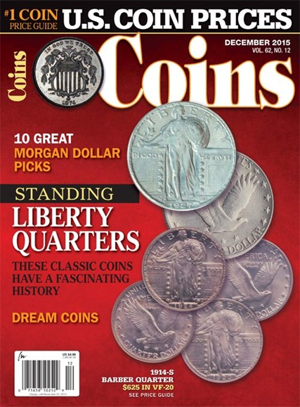 Coins Cover - 12/1/2015