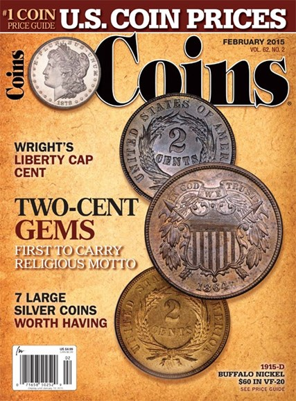 Coins Cover - 2/1/2015