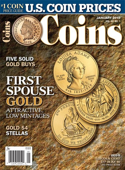 Coins Cover - 1/1/2015