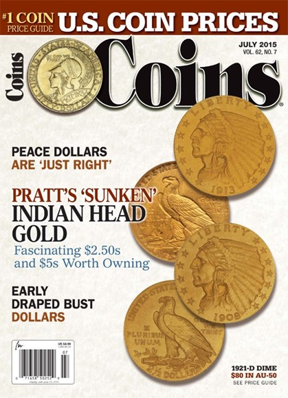 Coins Cover - 7/1/2015