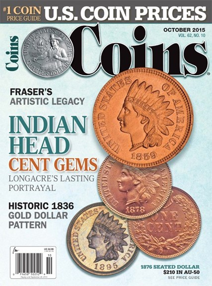 Coins Cover - 10/1/2015