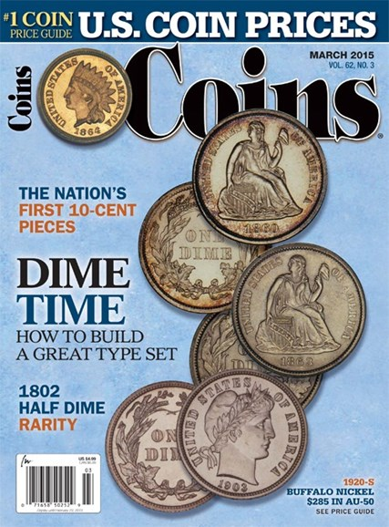 Coins Cover - 3/1/2015