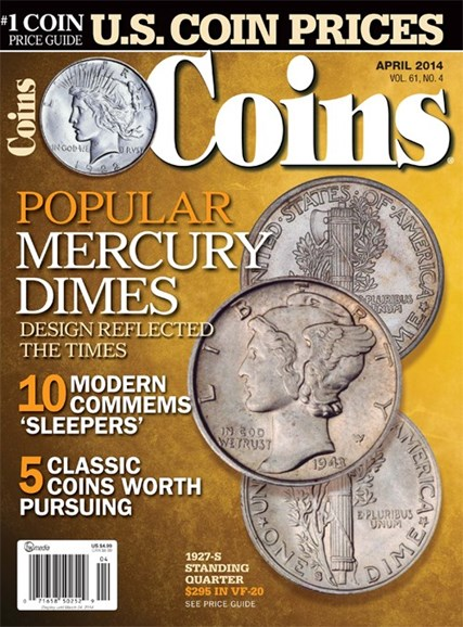 Coins Cover - 4/1/2014