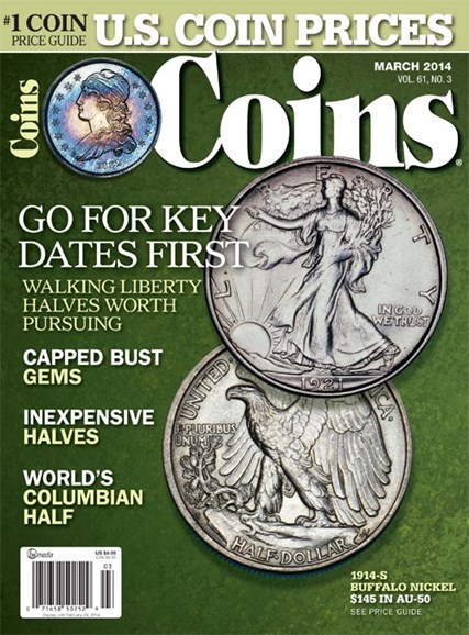 Coins Cover - 3/1/2014