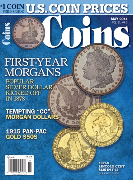 Coins Cover - 5/1/2014