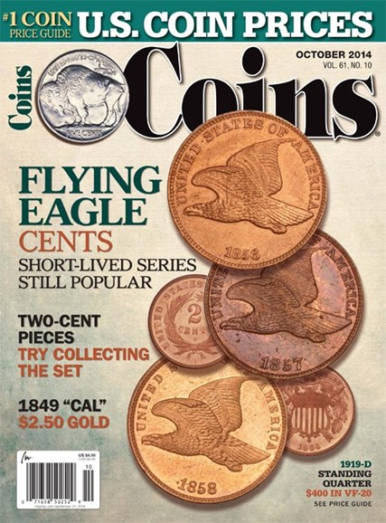 Coins Cover - 10/1/2014