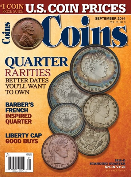 Coins Cover - 9/1/2014