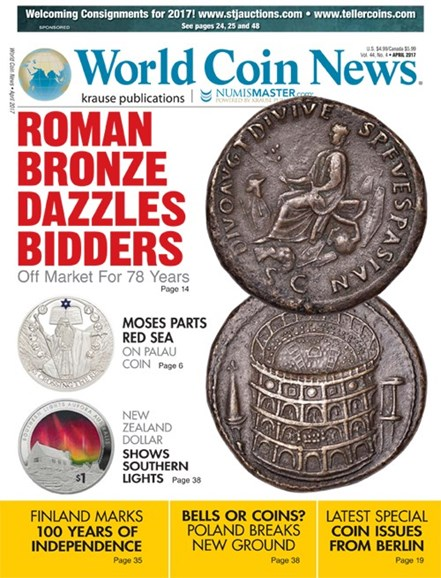 World Coin News Cover - 4/1/2017
