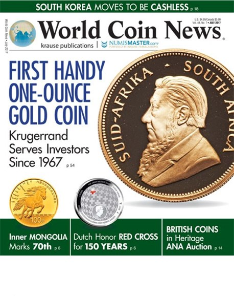World Coin News Cover - 7/1/2017
