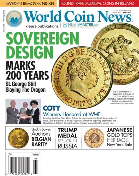 World Coin News Cover - 3/1/2017